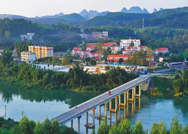 宜州怀远古镇风景介绍