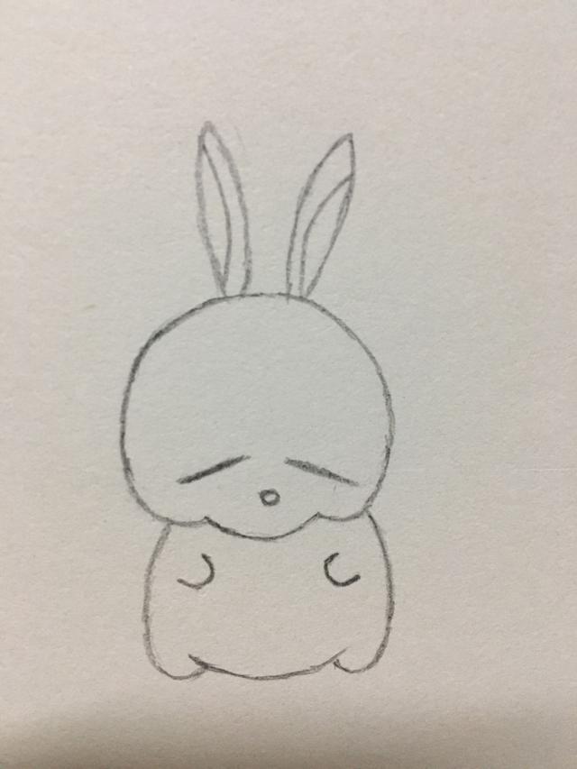 简笔画——流氓兔的画法