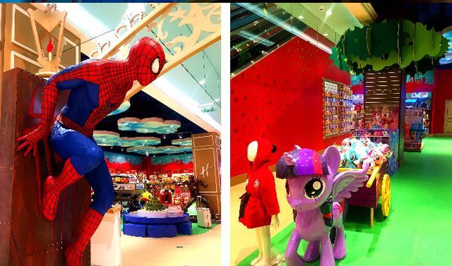 雷斯兔宝宝加油站_宝妈萌娃福利来了,哈姆雷斯——世界上最大的玩具店