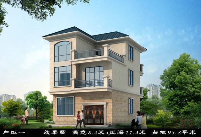 云南农村别墅设计图纸展示图片