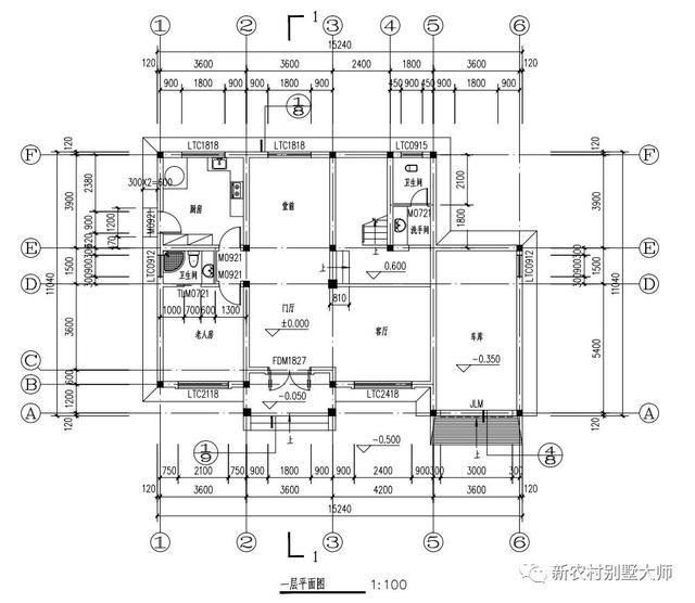 农村简易厨房电路图