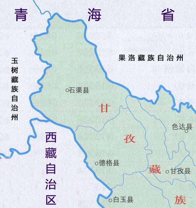 四川省最大的县,面积超过4个上海市,人口不到10万