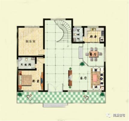 2套3层农村自建房别墅造价才40万左右,现代化风格的