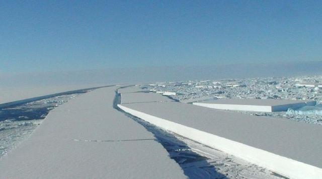 钻进垃圾桶的沃尔科特 联系南极冰盖已崩裂的消息,看来,全球温室效应