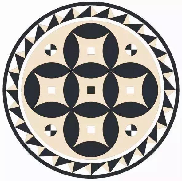 part 4— 拼花设计案例 — 拼花图案非常丰富,按照几何外形划分,最