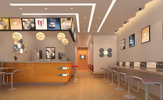 40平米的快餐店装修预算 大约有以下明细: 1,铺砖(铺地砖,贴墙砖,砖