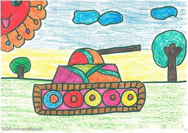 太可怕了:深度解析儿童画中的半个太阳!