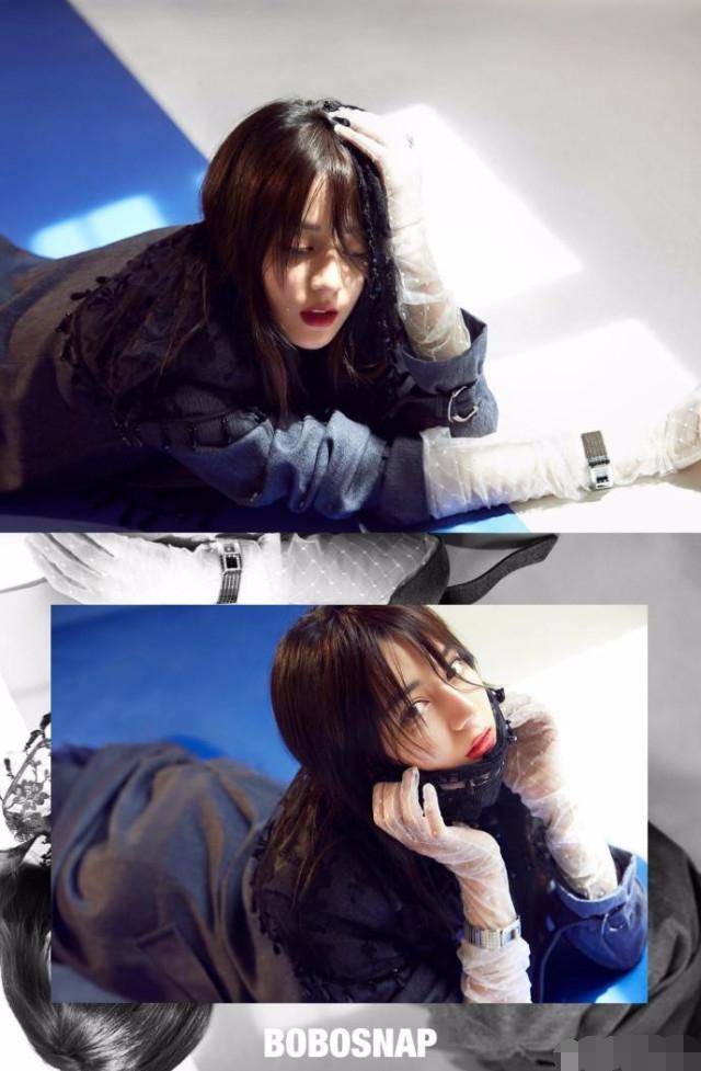 最近,热巴为某杂志拍摄了一组照片,照片中迪丽热巴或可爱或高冷或魅惑