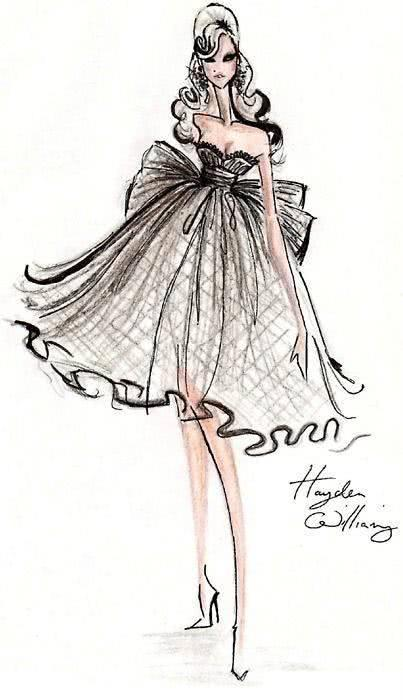 十二星座手绘婚纱,最美的婚纱只适合最美