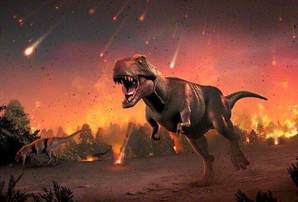 恐龙化��-a9��_美古生物学家称小行星没来前恐龙