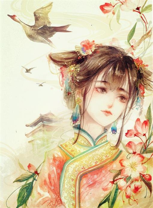 古风美人~绘师:三丁子