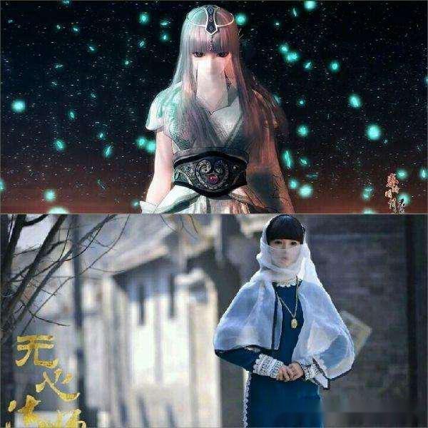 到岳绮罗觉得她也很适合演秦时明月的少司命,一个树叶一个纸人.