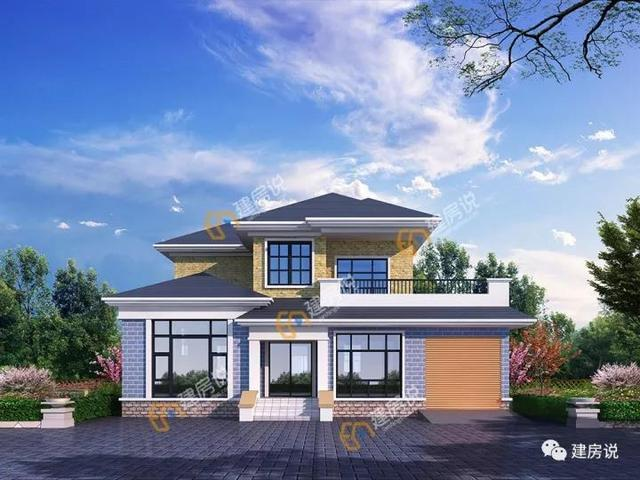 农村10.5x19.2米别墅设计图,这才是咱老百姓的房子!_