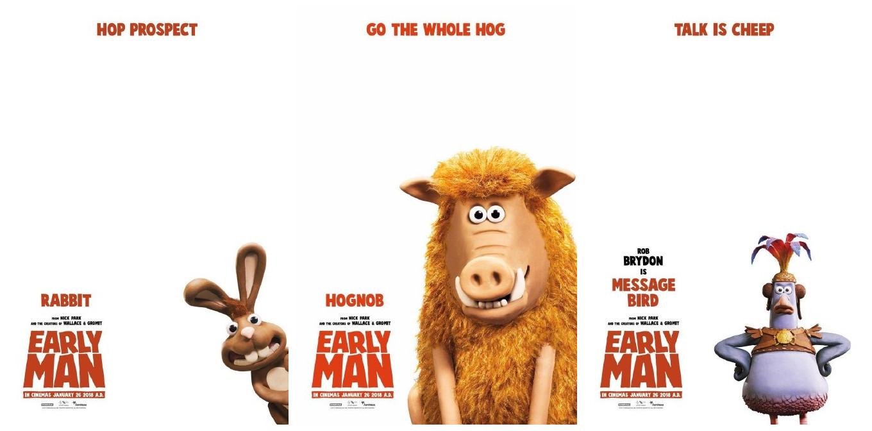 可爱的动物朋友们 《早期人类》新海报公开