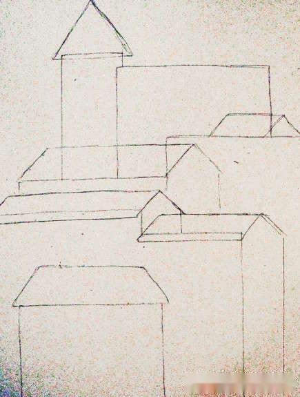 水彩画教程系列:教你如何绘画一幅简单的建筑水彩画