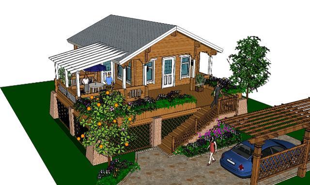 农村木屋小别墅设计图展示