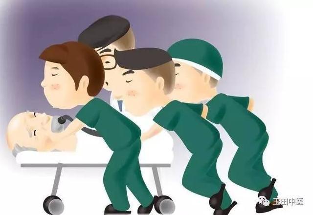 短短十几分钟的时间,手术准备就已完善,手术室护士将患者接入手术室图片