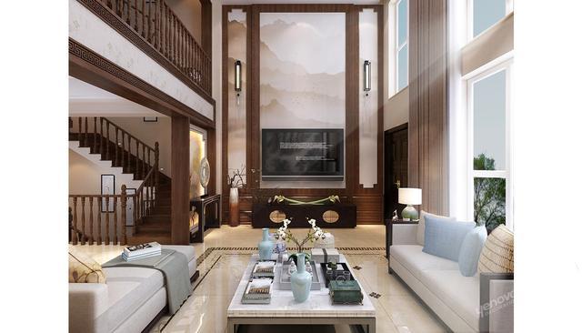济南新中式别墅设计|方寸之间,皆是优雅