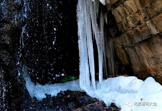 白羊沟冰瀑 自驾路线:百度地图定位,白羊沟自然风景区,从白羊城村