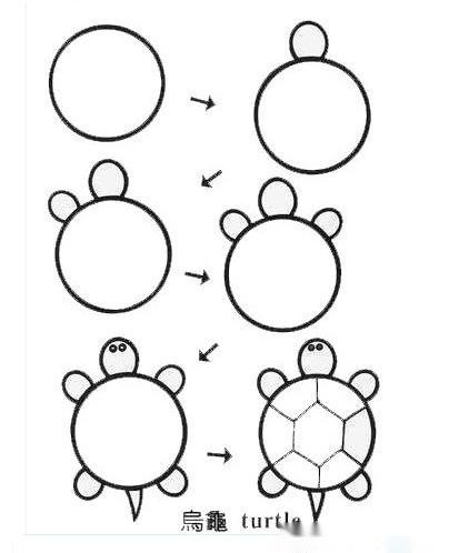 这几款小动物简笔画,家长和老师请要收好!锻炼宝宝