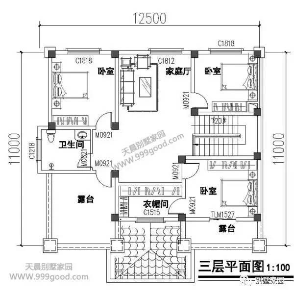5x12米自建房设计图纸
