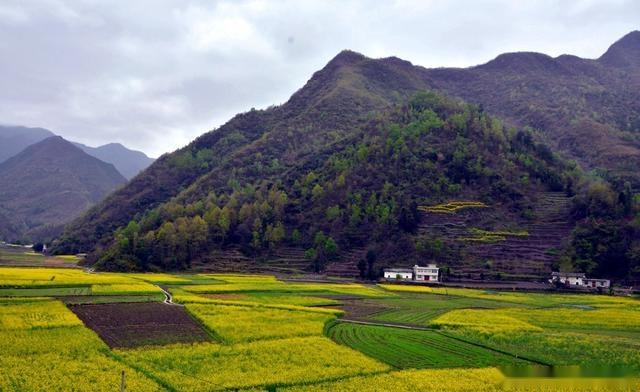 国内唯一世界罕见的自然奇观,华夏一绝,旬阳山水太极