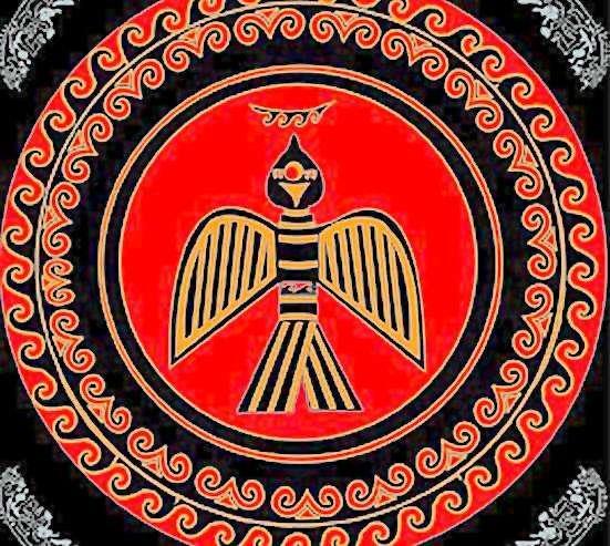彝族标志图案图片