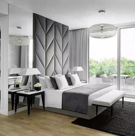 床头背景墙打造完美卧室!