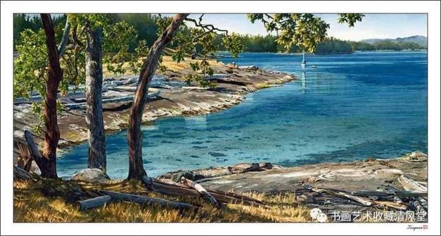四位国外水彩画家的作品:真美 好风景从不让人后悔
