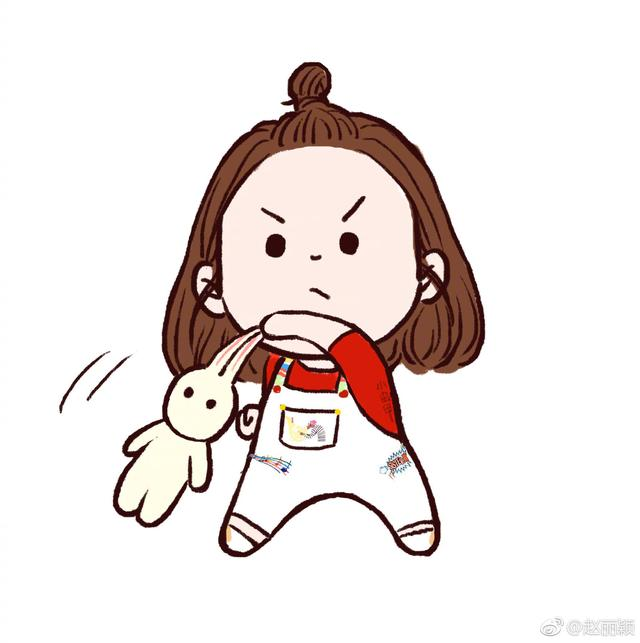小啾啾的赵丽颖,请问你手中的小兔子是《楚乔传》里的谁呢?