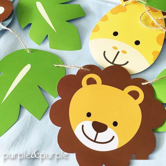 幼儿园:热带动物主题环创|一起去热带神秘国度探险,无
