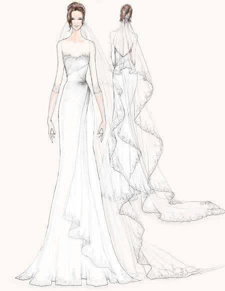 简单手绘婚纱论+�yf_每个女人的梦里都有一件美仑美奂的婚纱,不论她丑陋俊美,也不论她有没