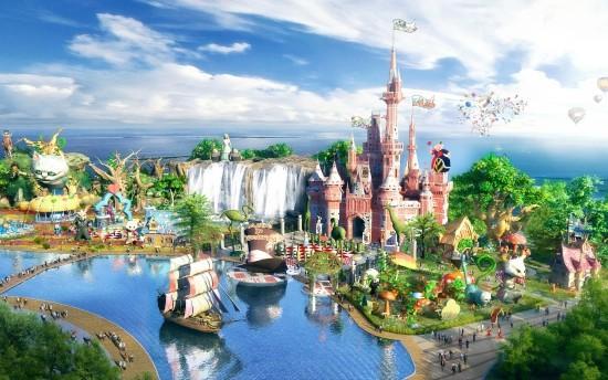 黎安港海洋主题公园 位于陵水县东南沿海的黎安湾.