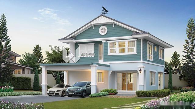 2018年新款实用农村别墅户型,选1款回家宅基地建起,不能错过了