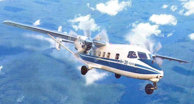 """世界民用飞机之""""安-38"""""""