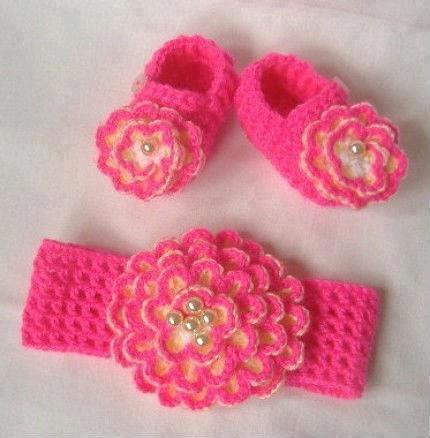 亲自为宝宝做钩针鞋,相信你也能做到