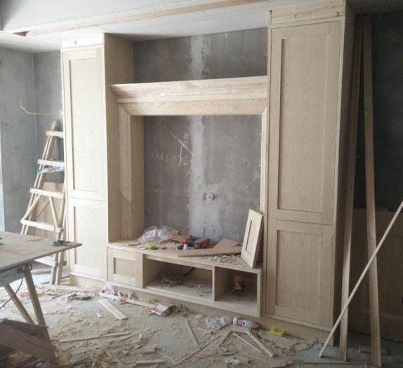 木工历时1个月,做了全屋的柜子,要了我27000工钱,会不图片