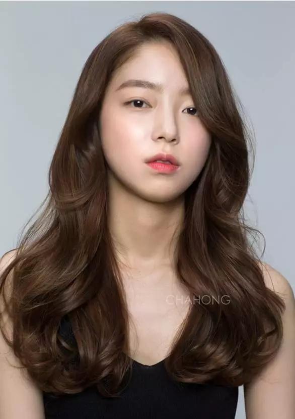 女生长发发型2图片