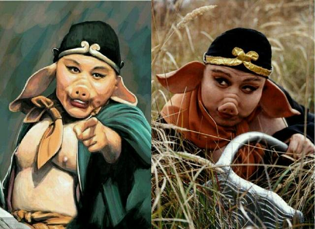 六小龄童版西游记猪八戒是两位演员,您发现了吗?换人