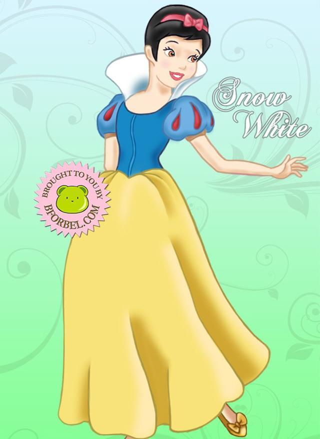 比如说气质高贵的白雪公主,颜值逆天的贝儿女神,英姿飒爽的木兰姐姐