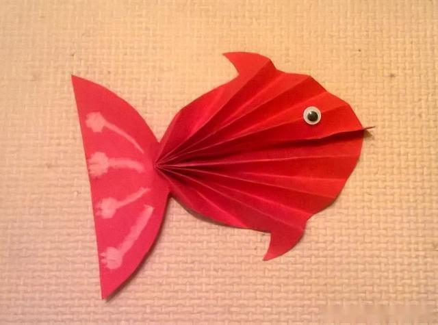 颜值超高的立体小鱼