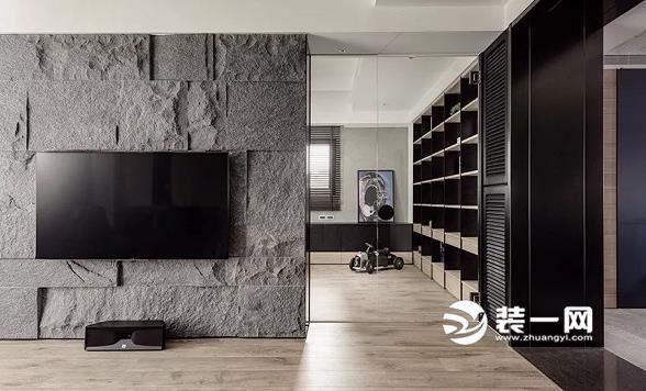 165平米三居室装修效果图 现代风格融入工业元素