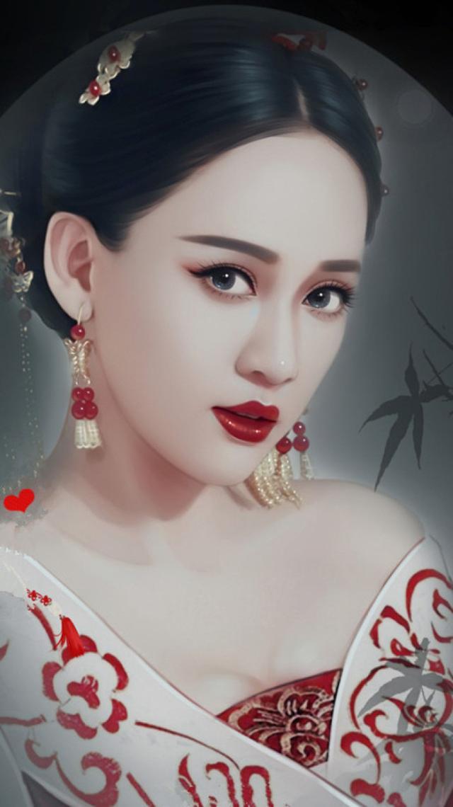 古装手绘中最美的十位女星,赵丽颖排第八,热巴第三,她