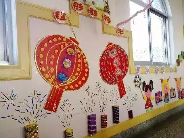 幼儿园元旦手工 环创墙 吊饰,赶快收藏吧