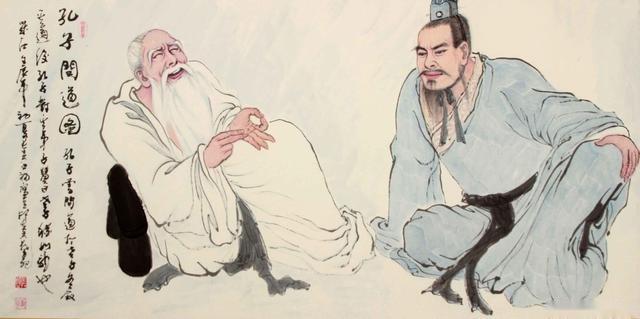 孔子五十岁以后学了什么?问道老子让他悔恨学的太晚了!