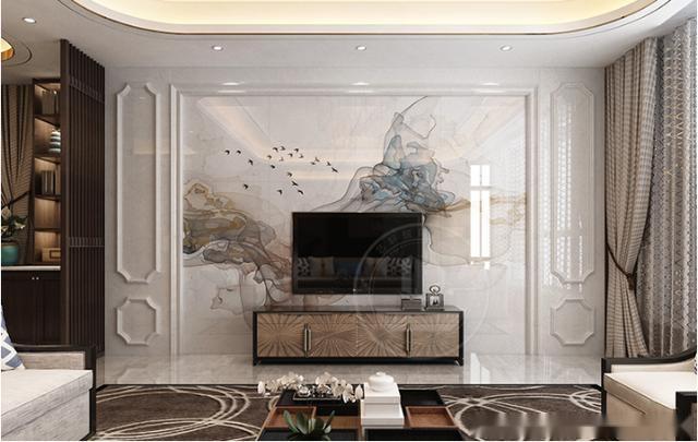 客厅电视背景墙怎么做好看,打造高端大气上档次的装修