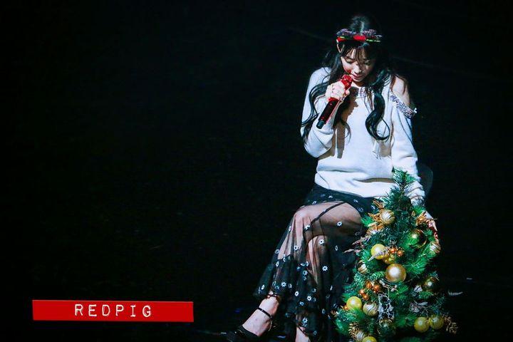 圣诞树背后的故事 是泰妍最珍贵的圣诞礼物
