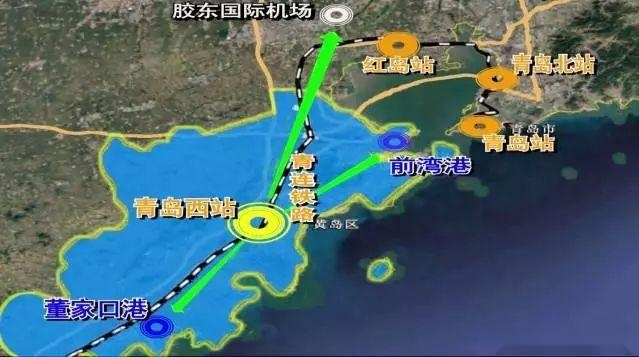 青岛西海岸,中央活力区(西海岸新区中心区)发展规划