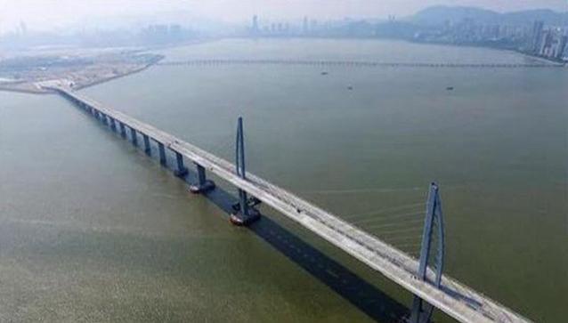 珠港澳大桥背景图