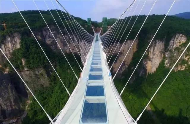 清远牛鱼嘴玻璃桥